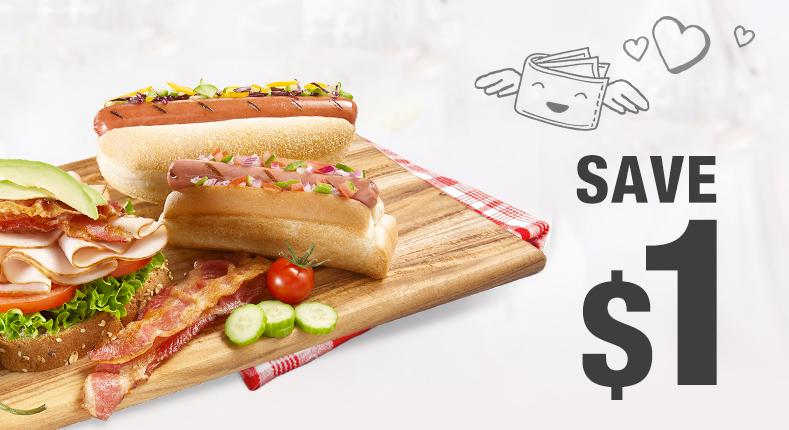 Save $1 on a package of Olymel uncured wieners nitrite-free