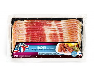 Naturally Smoked Bacon 33% Less Salt