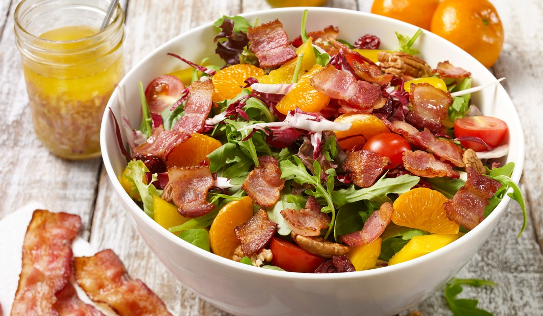 Salade Californienne au bacon