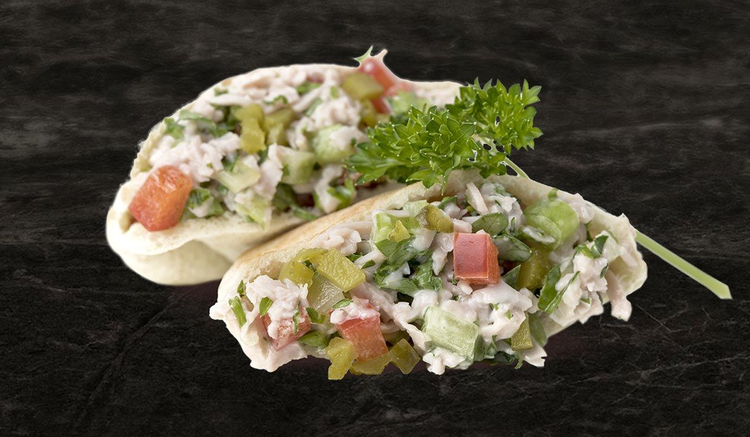 Ham Salad Mini Pitas