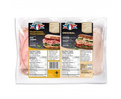 Traditional Cooked Ham & Cooked Chicken Breast Duo-Pack