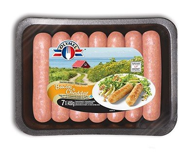 European Sausages Bacon & Cheddar