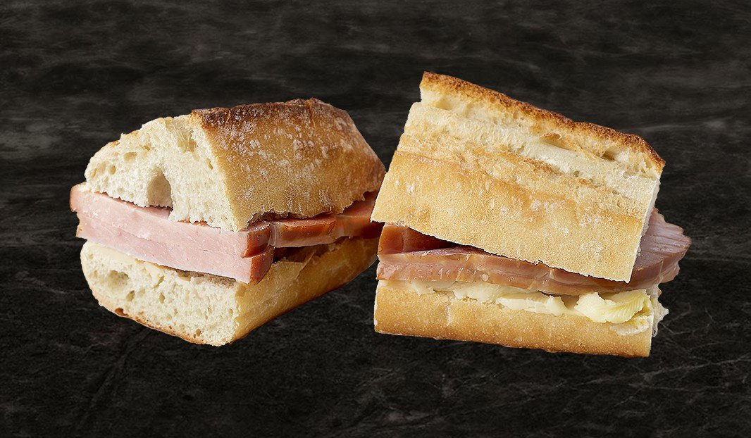 Authentic Ham & Butter Sandwich