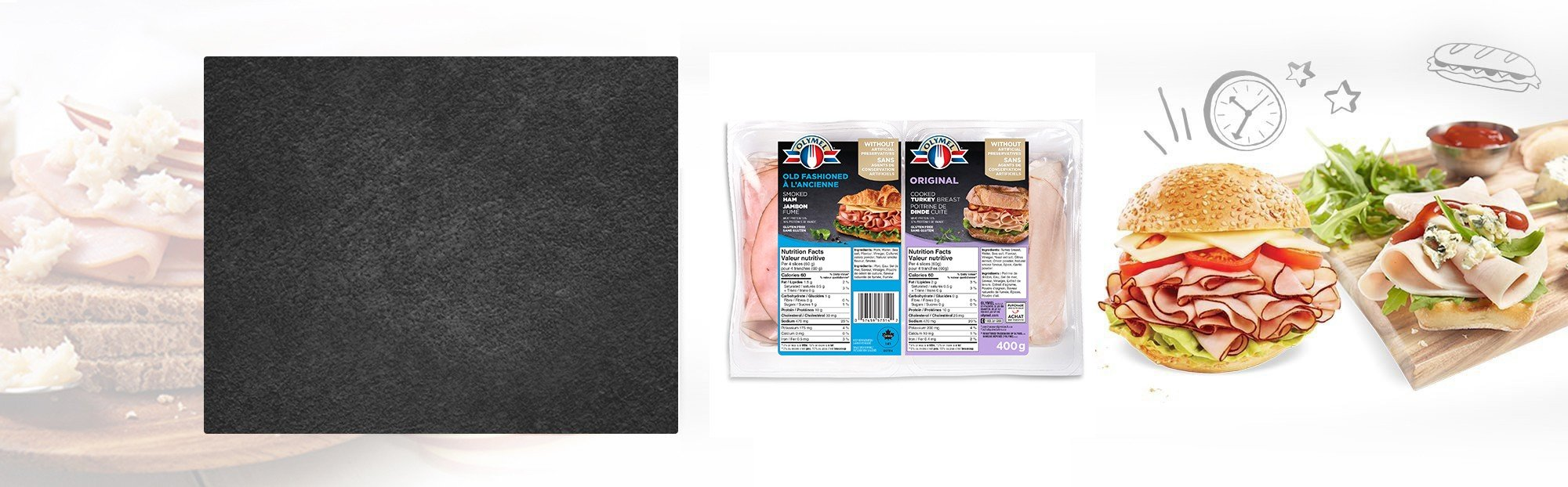 Old Fashioned Smoked Ham & Original Cooked Turkey Breast Duo-Pack