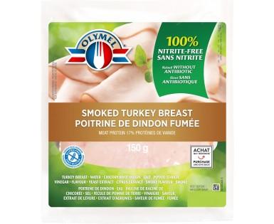 Poitrine de dindon fumée sans nitrite