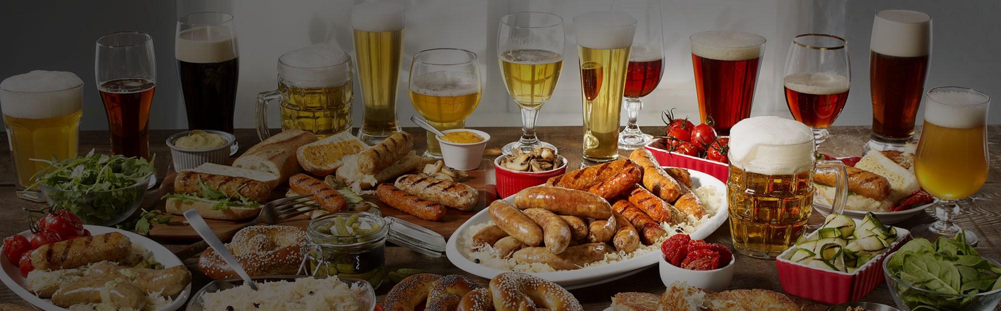 Célébrez<br>l'Oktoberfest<br>avec nous!