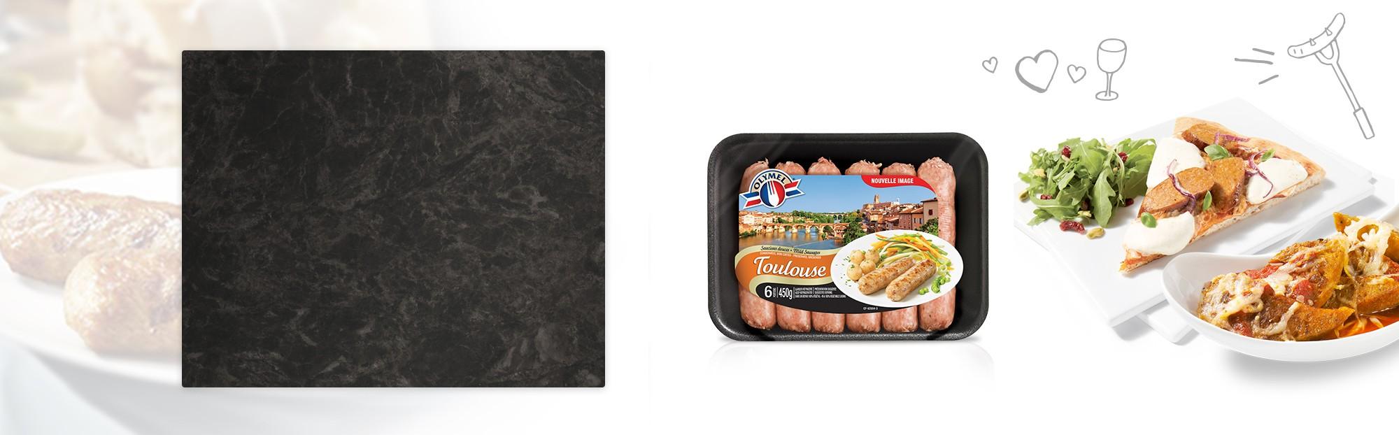 Saucisses Européennes Toulouse Douce
