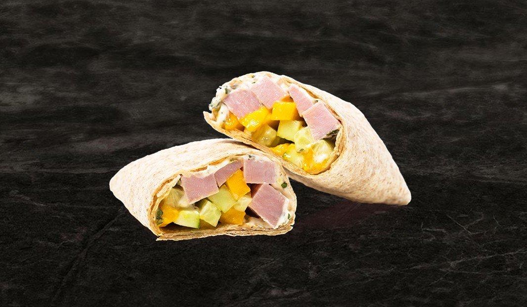 Mango Ham Wrap