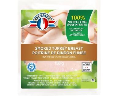 Smoked turkey breast nitrite-free