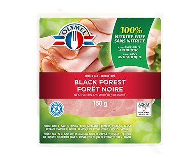 Black forest smoked ham nitrite-free