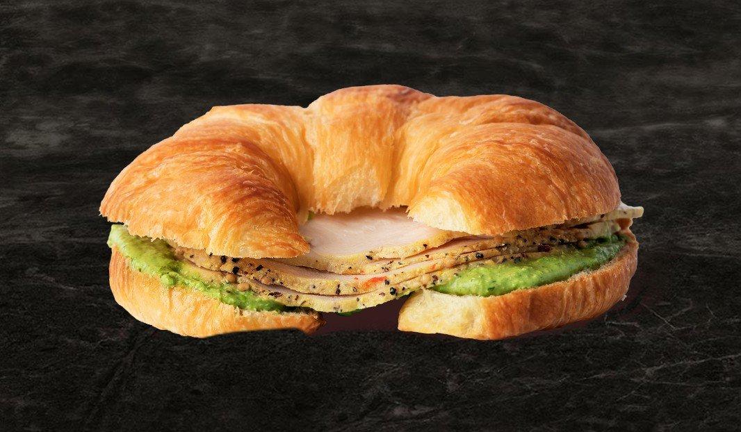 Turkey Sweat Pea Croissant