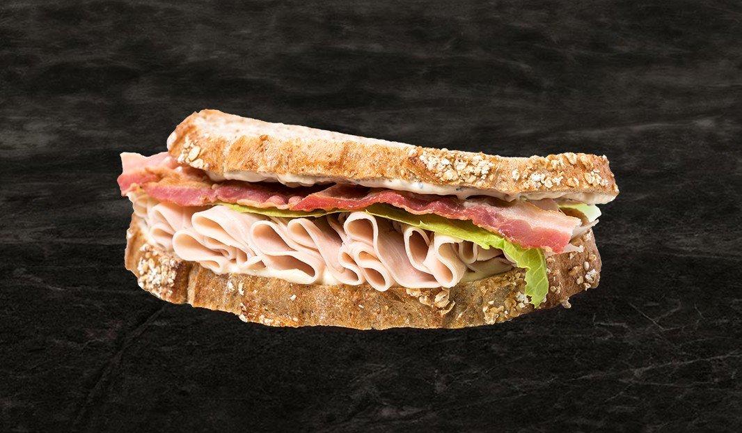 Sandwich dinde à la César