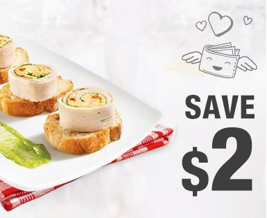 Save $2 on an Olymel deli meats packaging