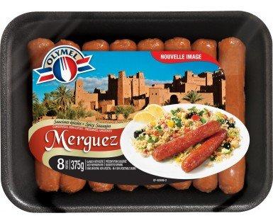 Saucisses Européennes Merguez