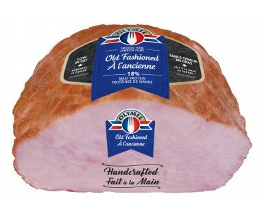 Old Fashioned Handcrafted Open Net smoked ham