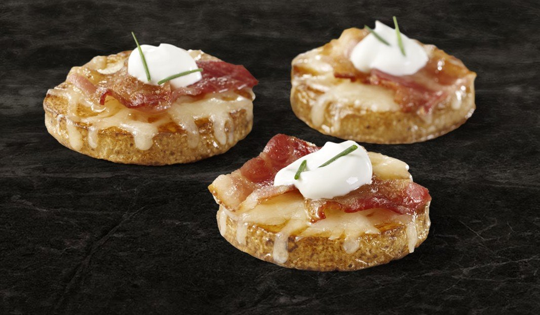 Surprise Bacon Canapes