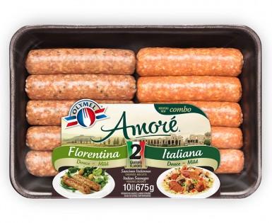 Combo Amoré Sausages Florentina Italian and Mild Italian