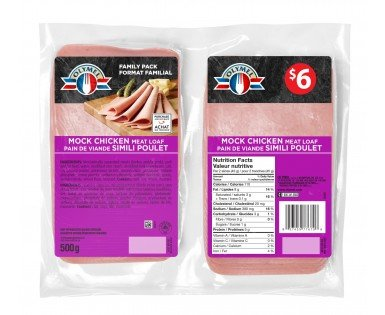Mock Chicken Meat Loaf