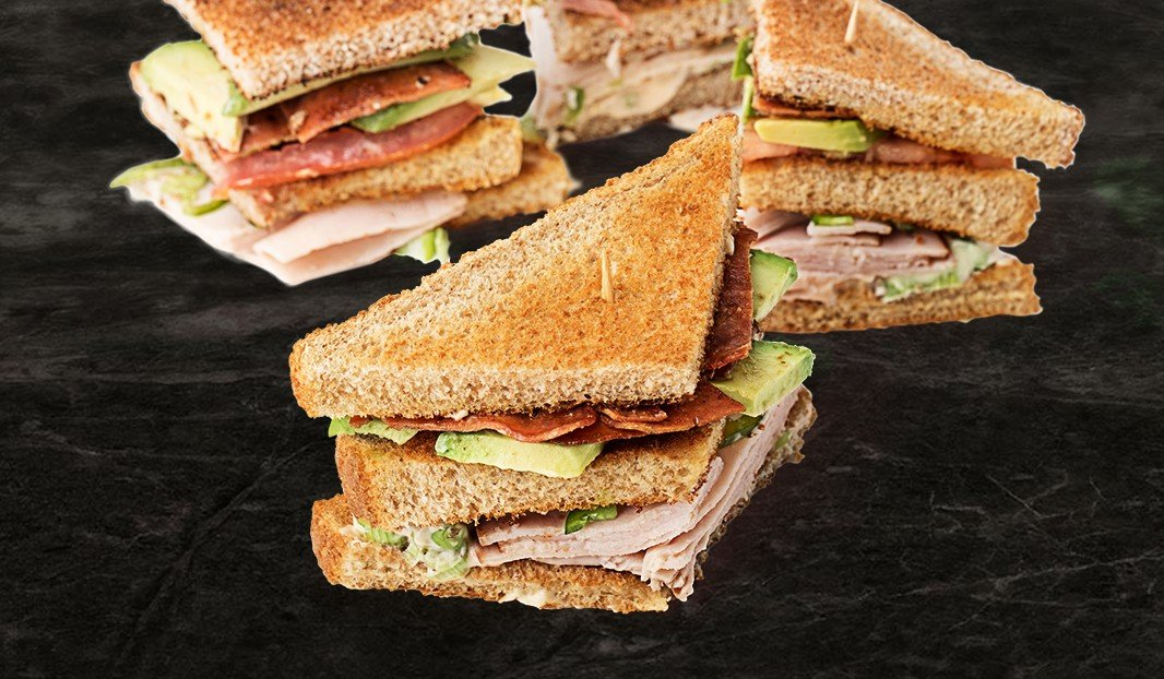 Turkey, Avocado and Chipotle Club