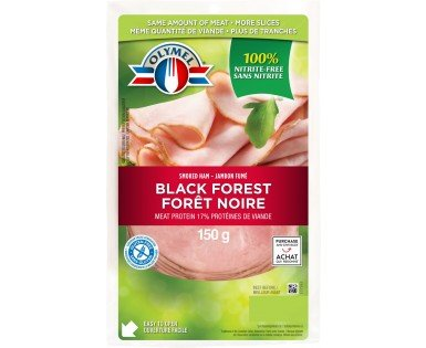 Black forest smoked ham nitrite-free