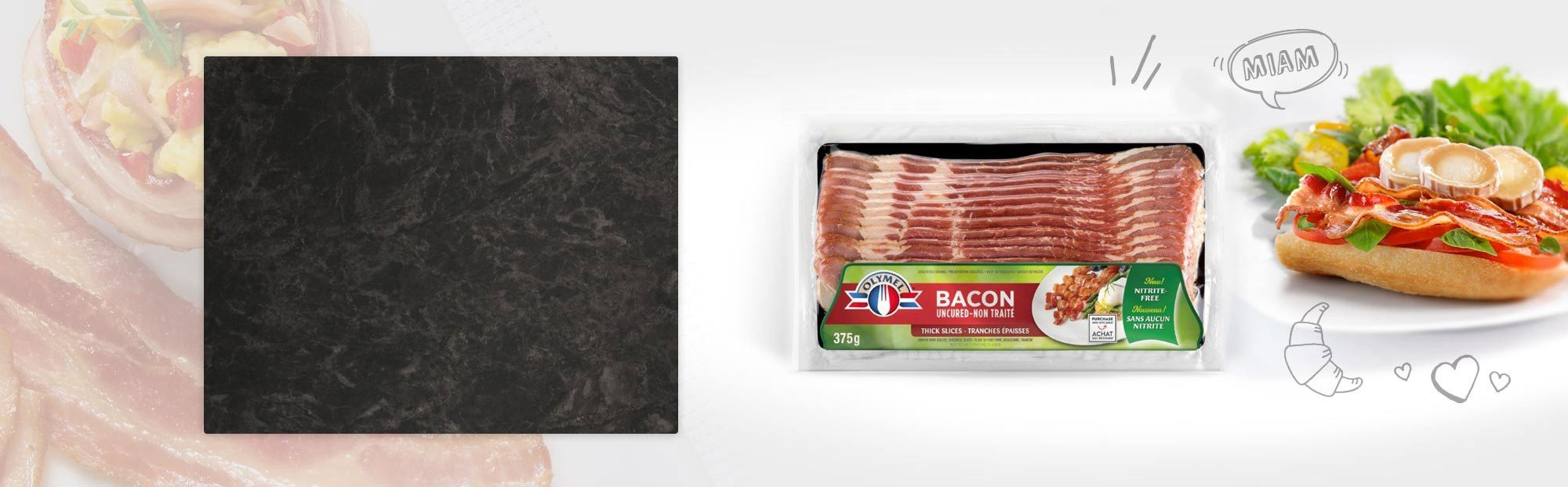 Bacon Non traité