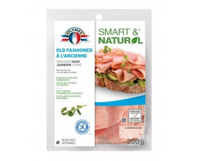 Shaved Old Fashioned Smoked Ham Olymel Smart & Natural