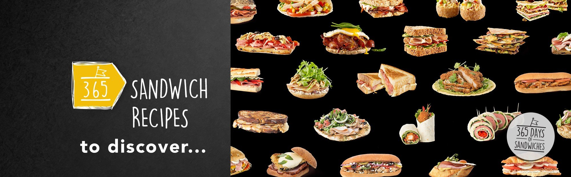 365 sandwich recipes to discover