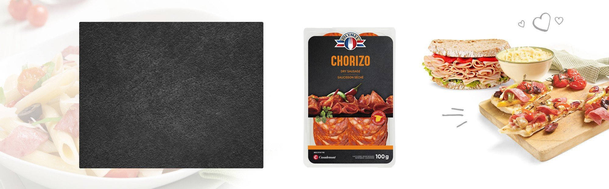 Chorizo saucisson séché