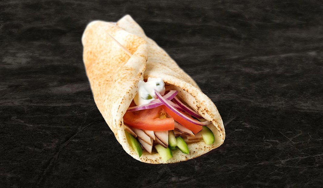 Greek Turkey Pita