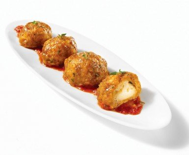 Spicy Italian sausage and bocconcini balls