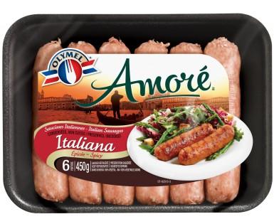 Saucisses Italiennes Épicée Amoré