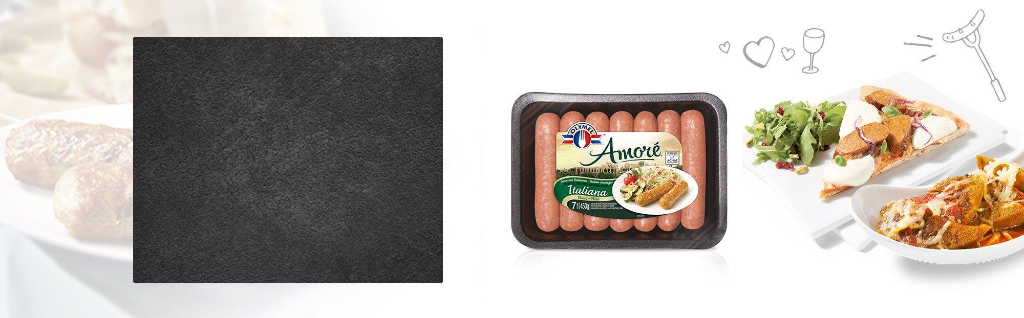 Amoré Sausages Mild Italian