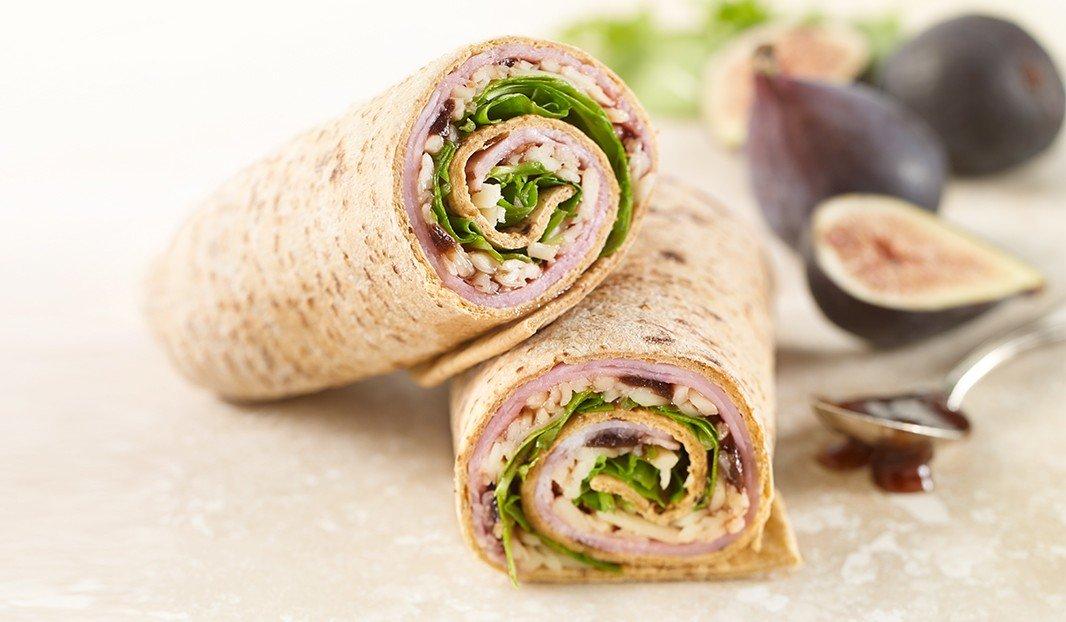 Ham & Fig Wrap